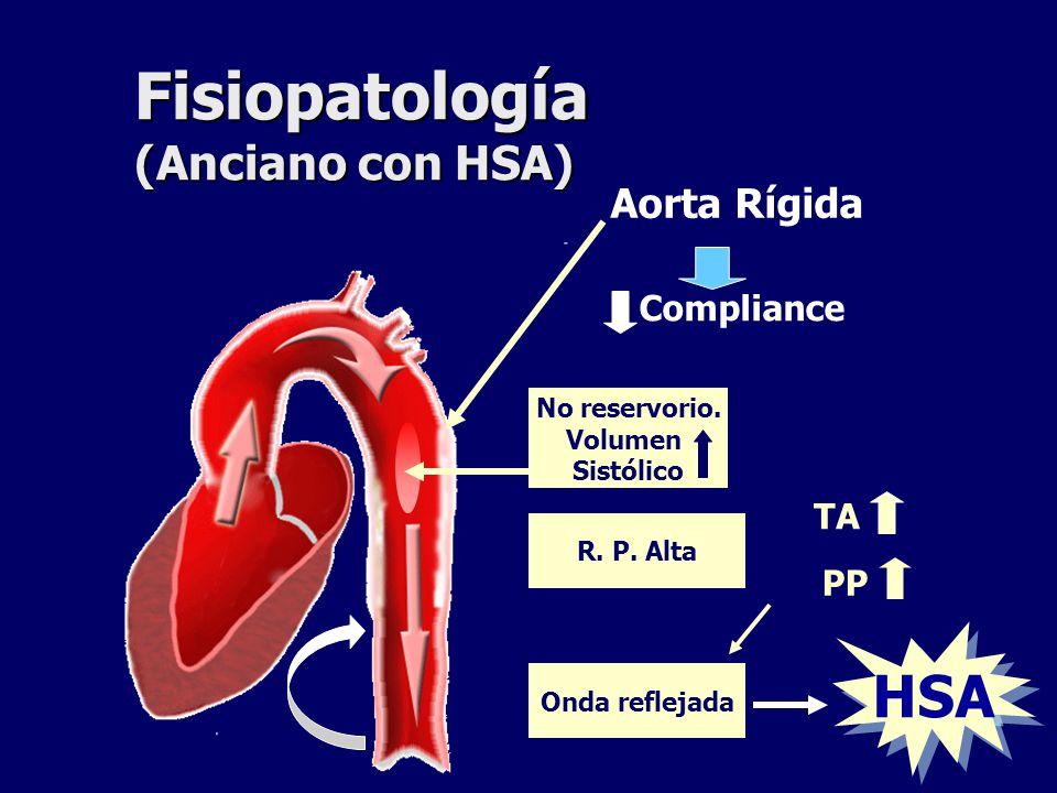 Fisiopatología de la hipertensión en ancianos