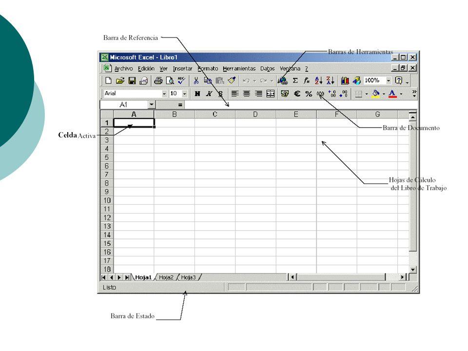 Hojas de Calculo (Excel) - ppt descargar
