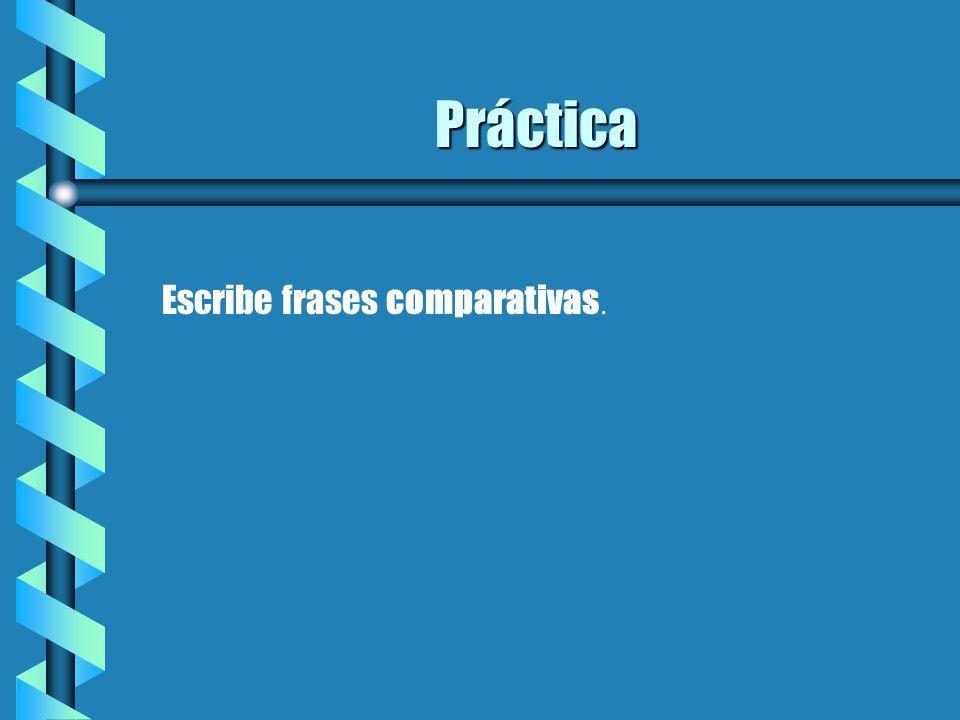 Comparativos Y Superlativos Una Presentación Para La Clase