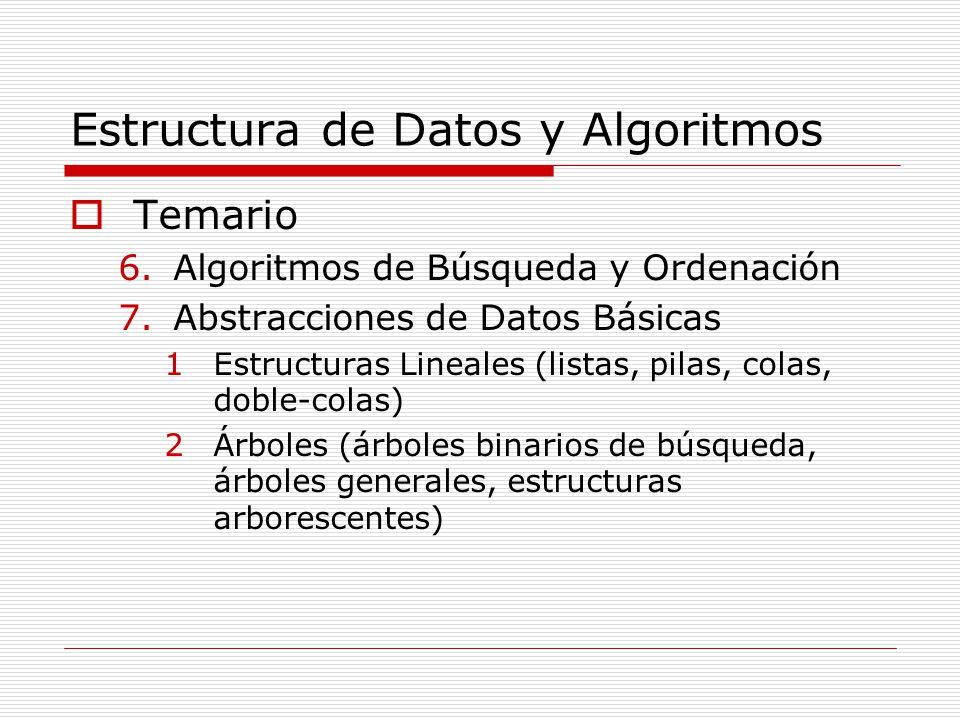 Tecnólogo En Informática Estructura De Datos Y Algoritmos