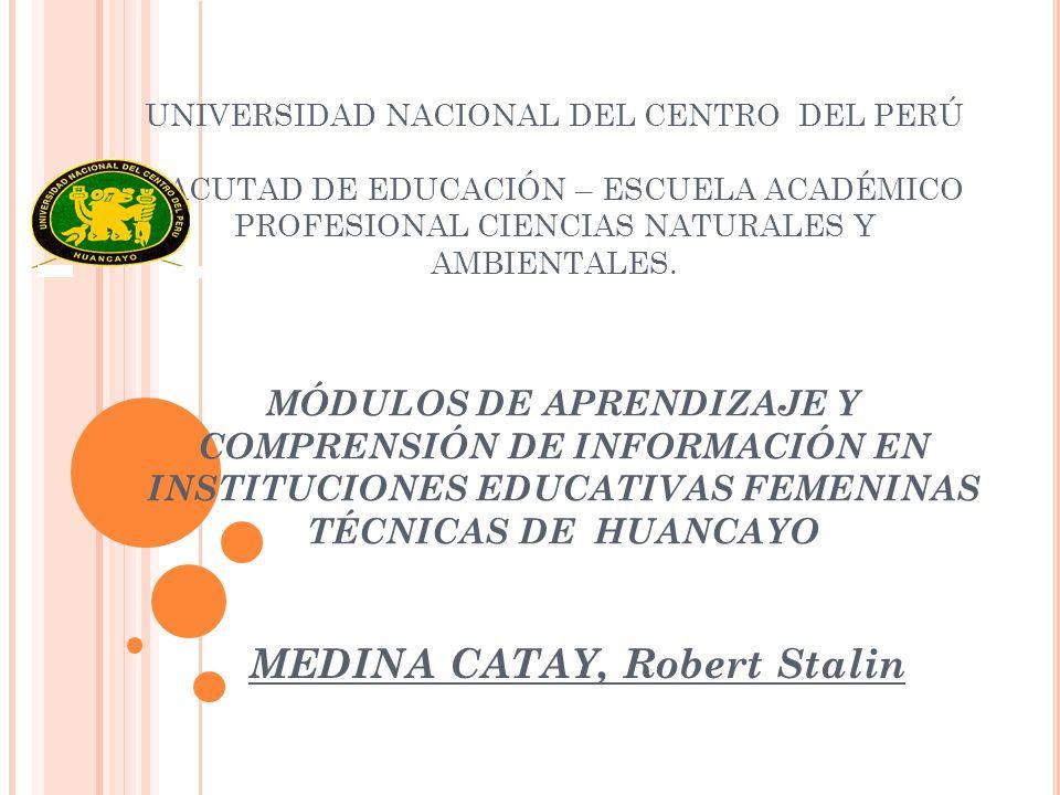 Módulos De Aprendizaje Y Comprensión De Información En