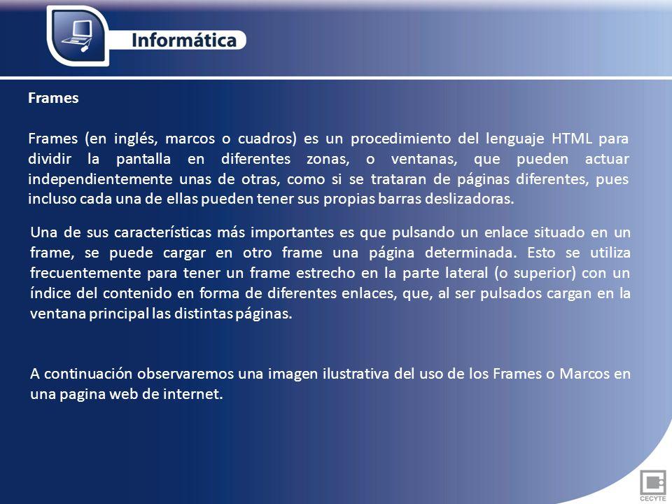 Como es normal el HTML, como cualquier otro lenguaje, no está ...