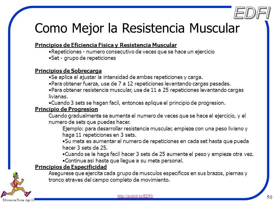 ejercicios para mejorar resistencia muscular
