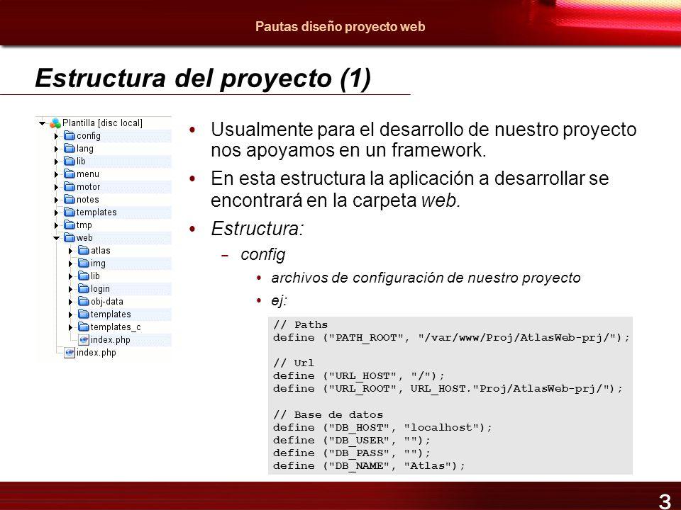 Pautas para el diseño de un proyecto web Mayo 2005 Jordi Llonch ...