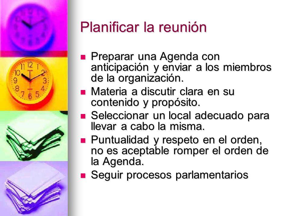 Reuniones Efectivas Profa. Angélica Martínez Díaz Especialista ...