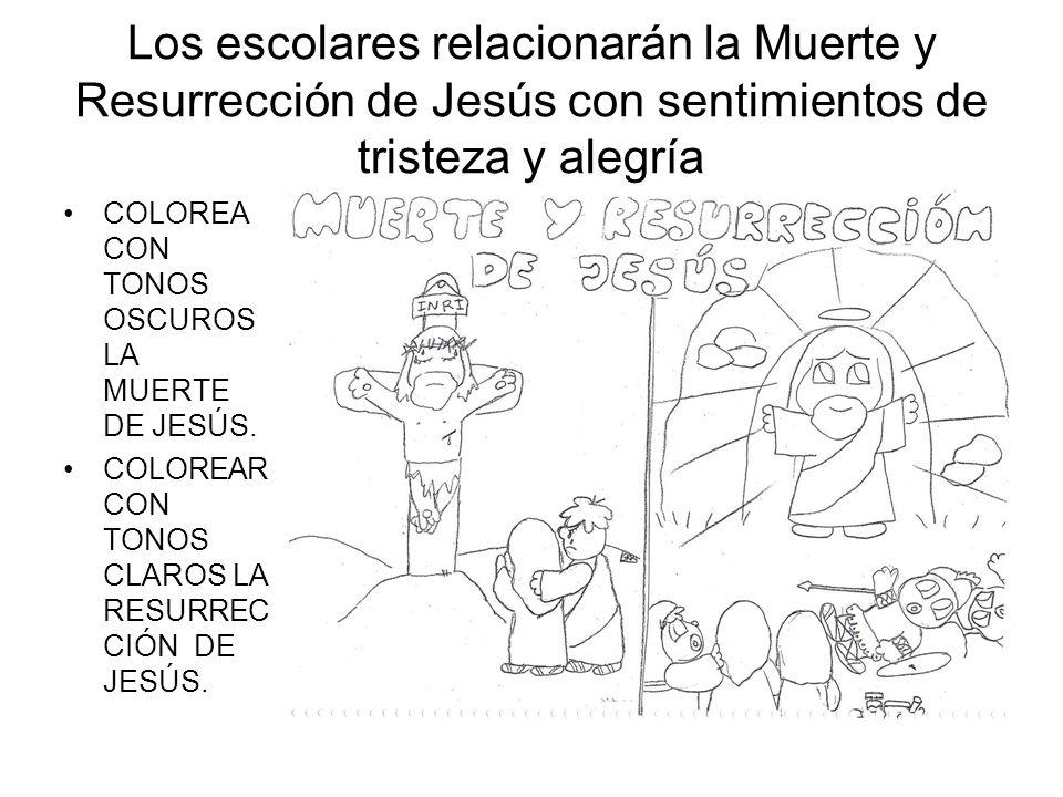 PROGRAMACIÓN DE TAREA Tema 8: Creo en Jesucristo, que murió y ...