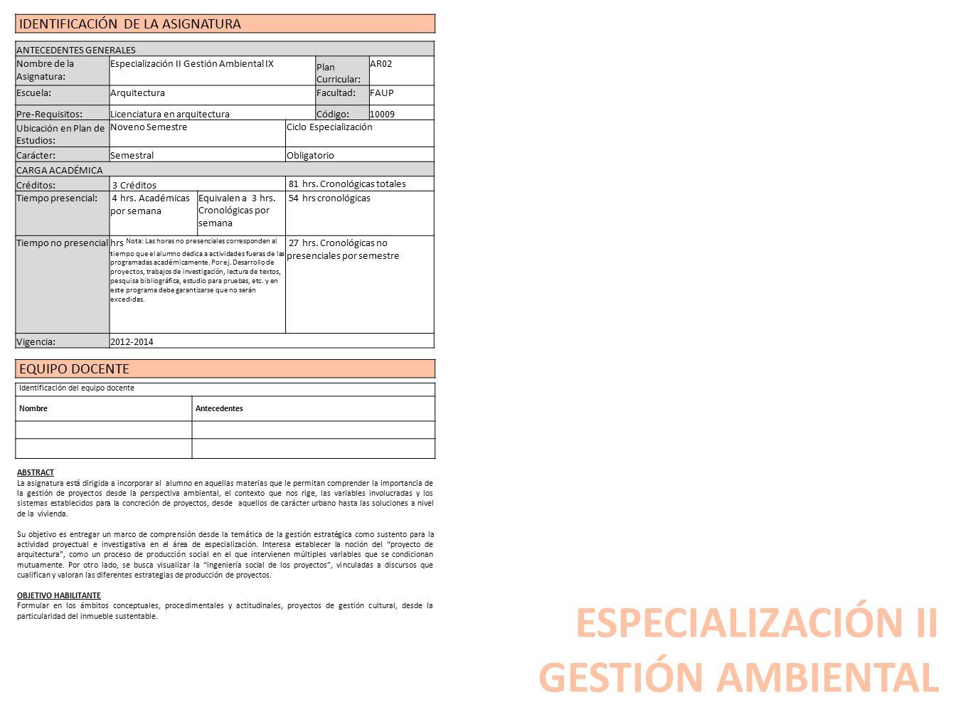 LÍNEA DE ESPECIALIZACIÓN TECNOLÓGICA GESTION| MATERIALIZACION ...