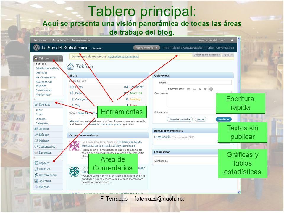 WordPress: Pasos básicos para el uso de Bitácora Electrónica (Blog ...