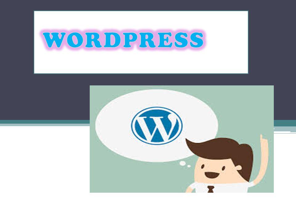 Q UE ES UN WORDPRESS? Es un sistema ideal para un sitio web que se ...