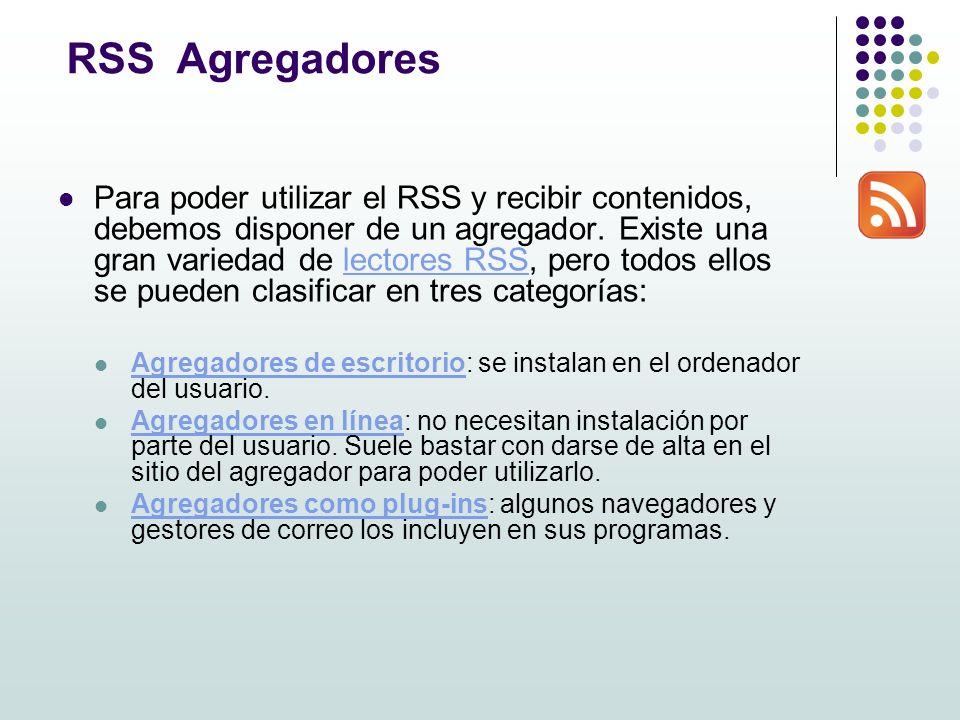 Sindicación de contenidos [RSS]. RSS Really Simple Syndication ...