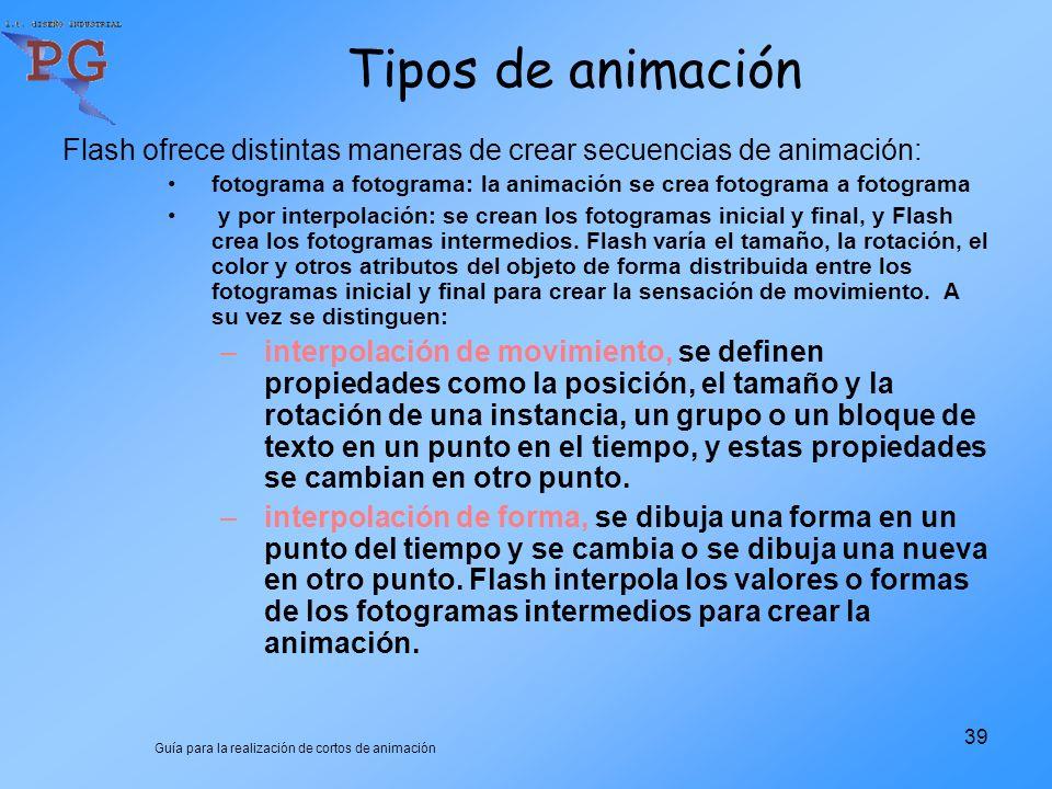 Guía para la realización de cortos de animación 1 INTRODUCCIÓN AL ...