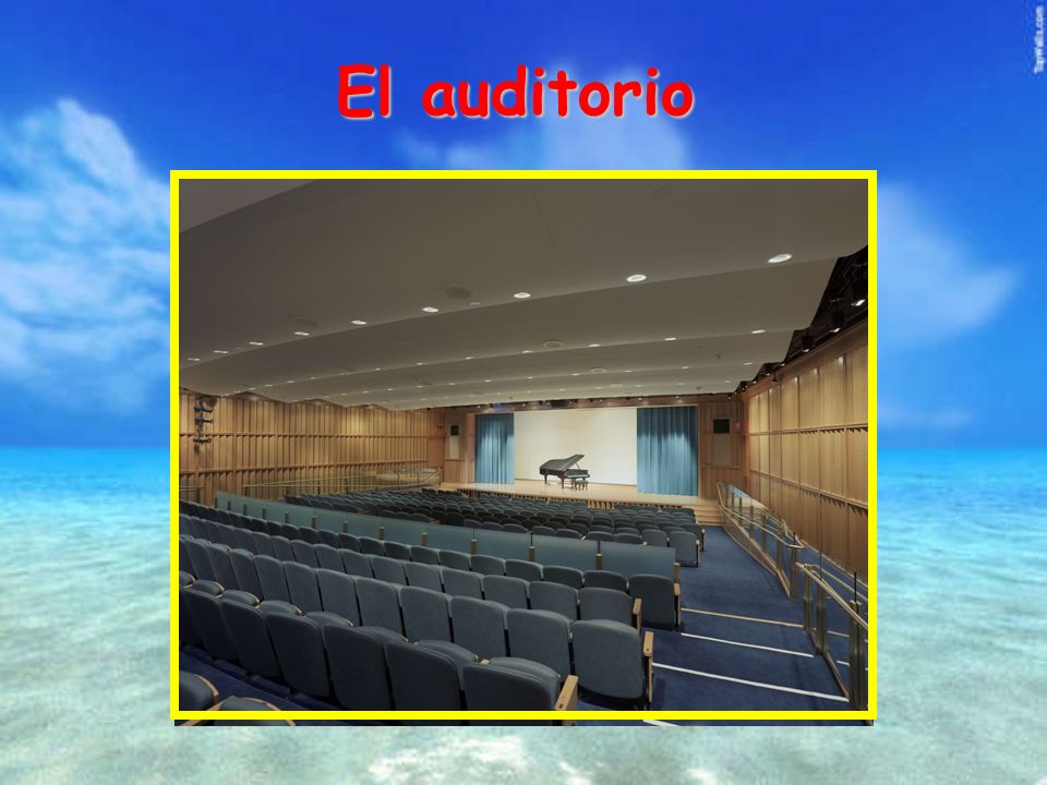 El auditorio