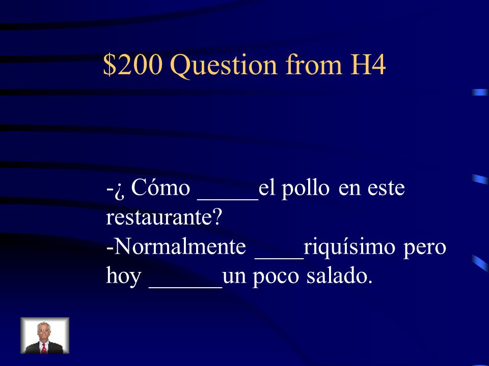 $100 Answer from H4 está