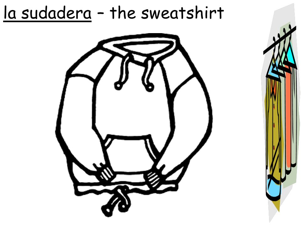 la sudadera – the sweatshirt
