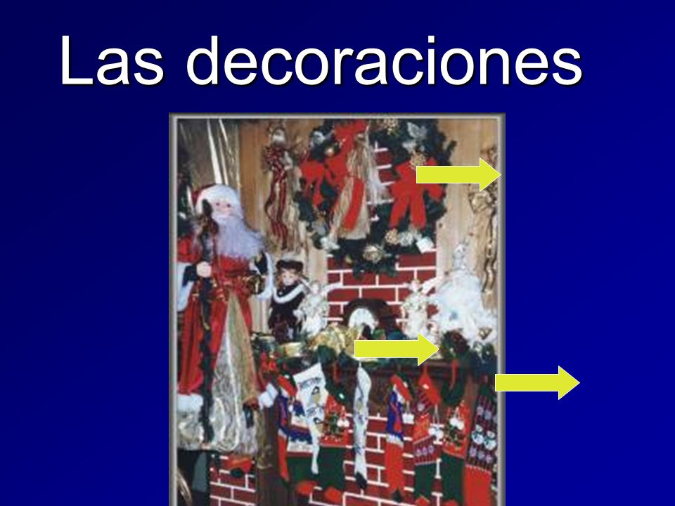 Las decoraciones