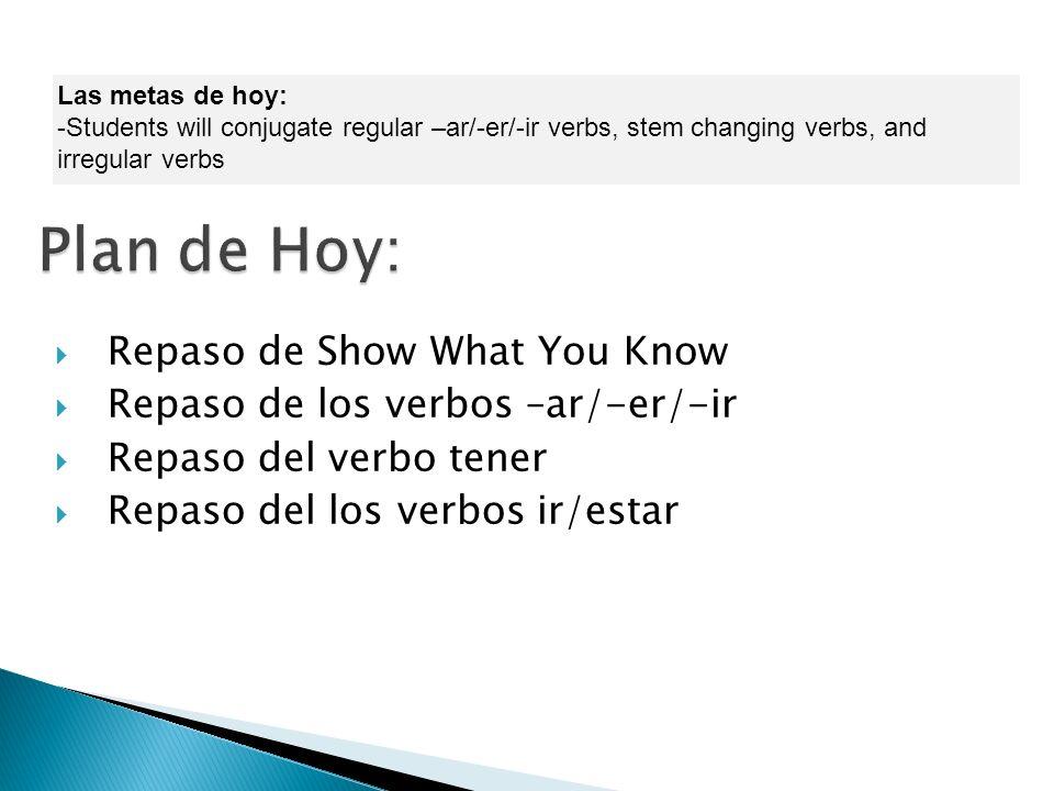 La pregunta: ¿Qué quiere decir… trabajar comer escribir …en Inglés? La  tarea: Prueba de repaso el 16 de septiembre Use your textbook to review  vocabulary. - ppt descargar