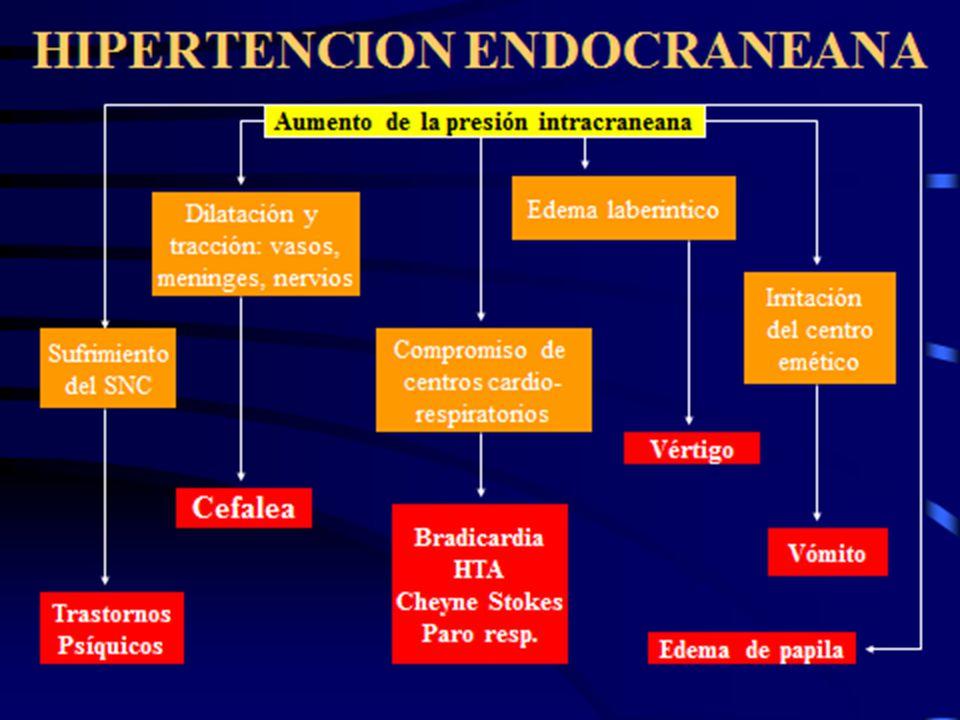 Reflejo ocular bradicardia hipertensión