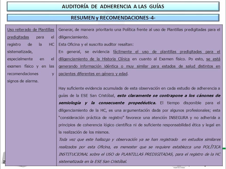 W. Javier Suárez Médico Auditor Oficina Asesora de Control Interno ...