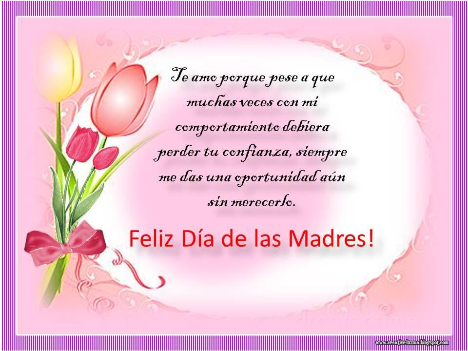 Dia De Las Madres El Segundo Domingo De Mayo Se Ha Consagrado Para
