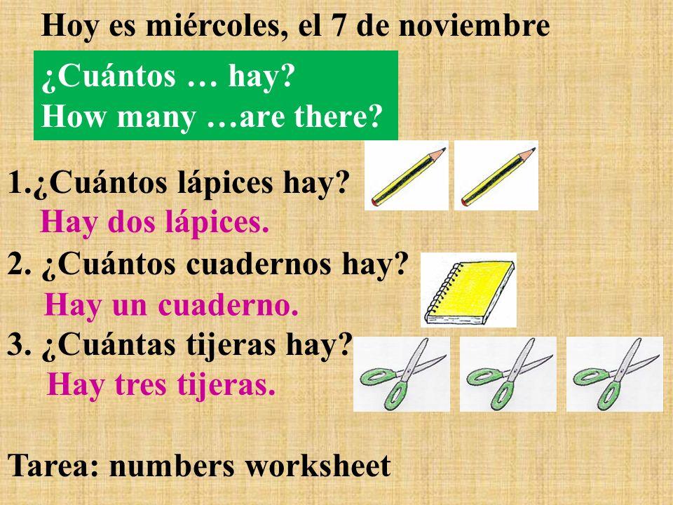 Cmo Se Dice En Espaol How Do You Say In Spanish Hoy Es Martes