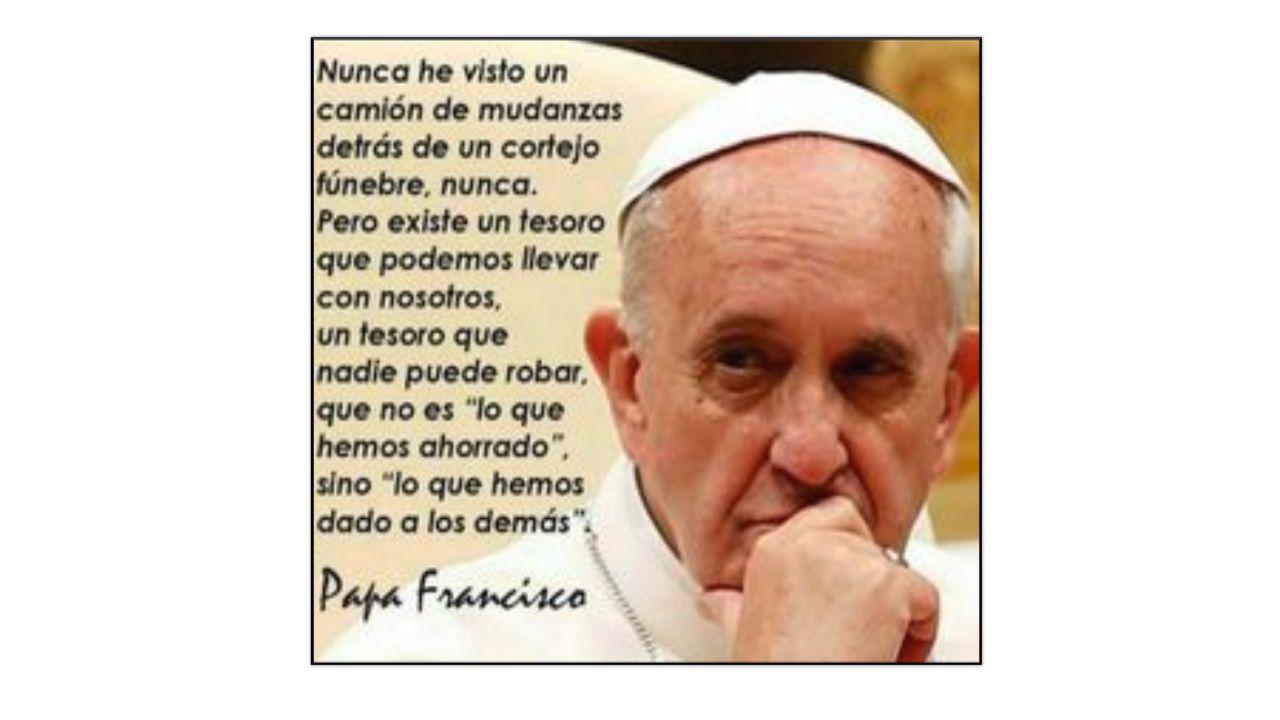 Las Frases Del Papa Francisco Que Nos Llegan Al Corazón