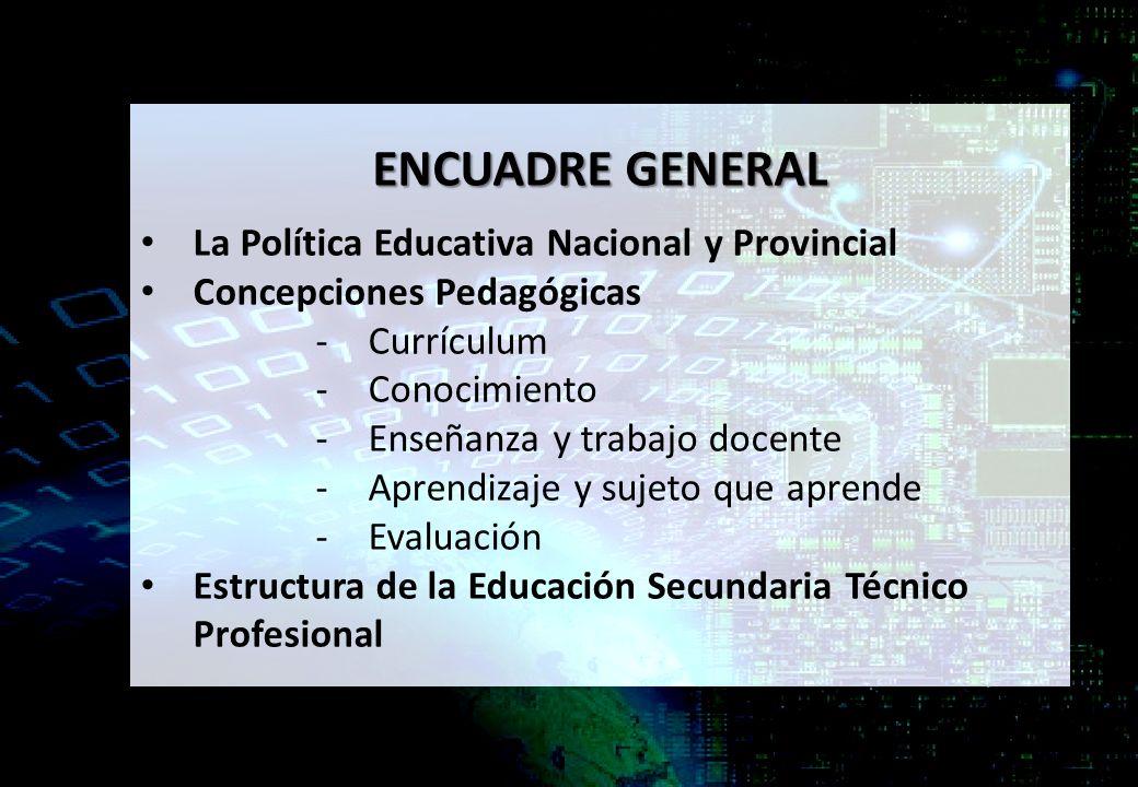 SECTOR AUTOMOTRIZ. ENCUADRE GENERAL La Política Educativa Nacional y ...