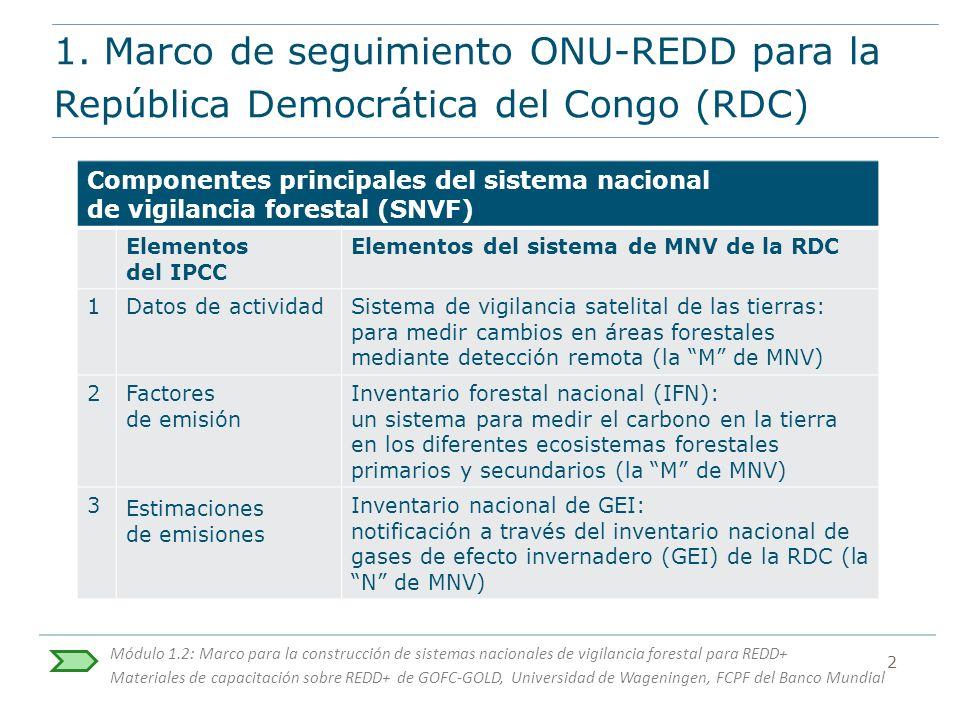 Módulo 1.2: Marco para la construcción de sistemas nacionales de ...