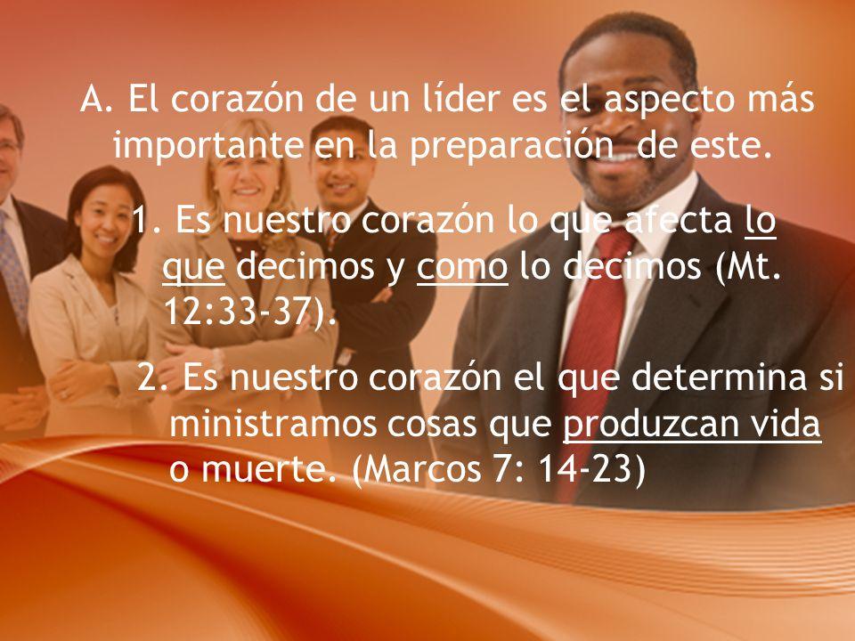 Liderazgo Lección 15. El Corazón de un Líder Un líder del Reino es ...