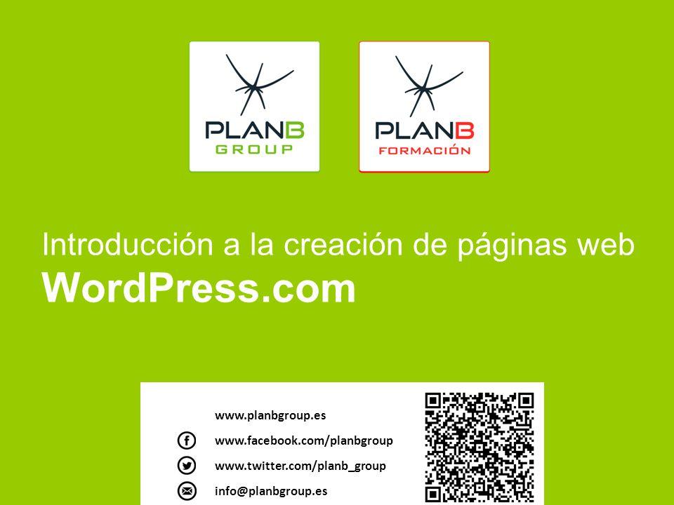 Introducción a la creación de páginas web WordPress.com. - ppt descargar