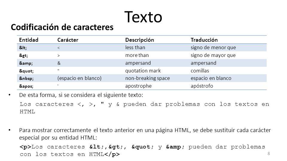 Texto Marcado Generico Del Texto El Estandar Html Incluye Numerosas - Espacio-en-blanco-html