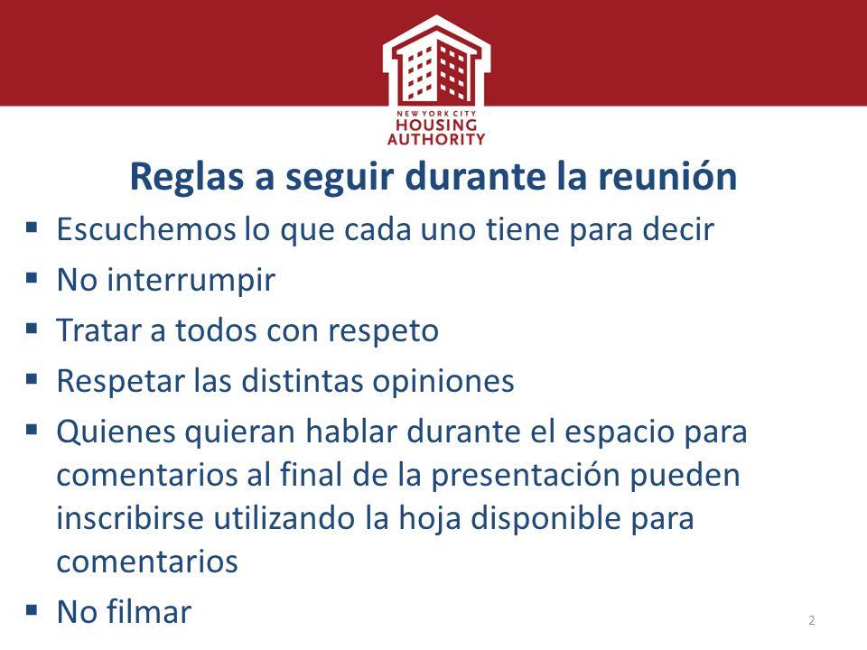 Preservando la vivienda pública Resumen sobre la solicitud de ...