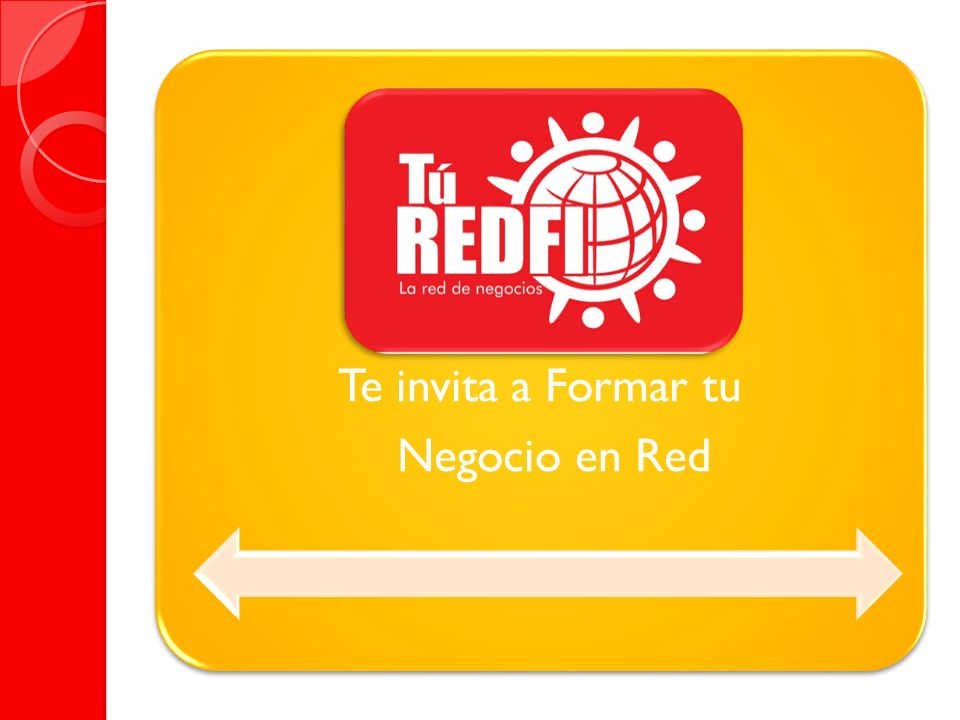 Te invita a Formar tu Negocio en Red