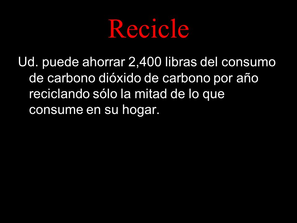Recicle Ud.