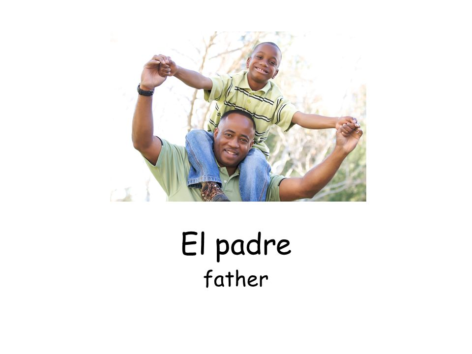 El padre father