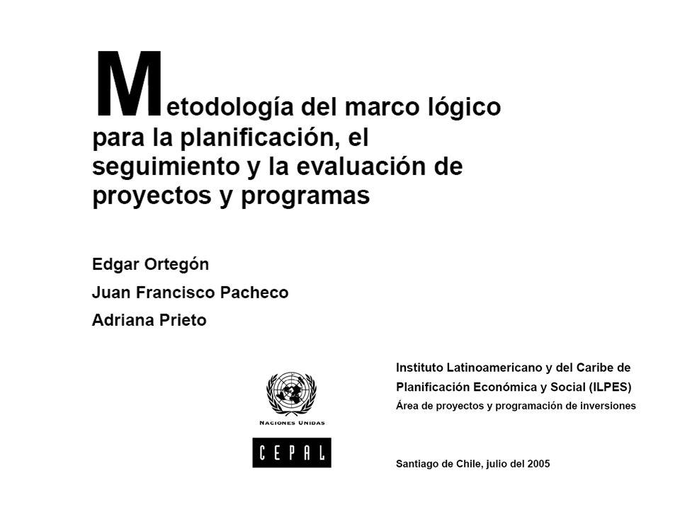 METODOLOGÍA DE MARCO LÓGICO - ppt descargar