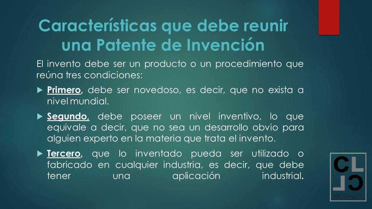 invencion o invento