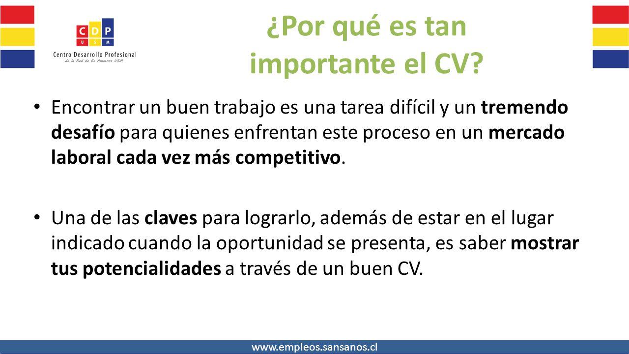 AGENDA DE HOY 1.Confeccion CV – lo bueno y malo 2.Presencia Online ...
