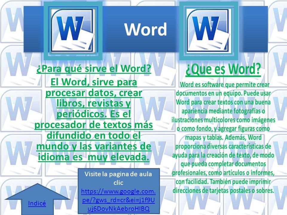 que es word