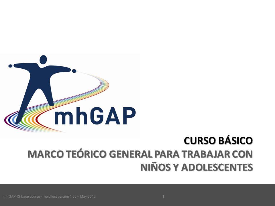 MhGAP-IG base course - field test version 1.00 – May CURSO BÁSICO ...