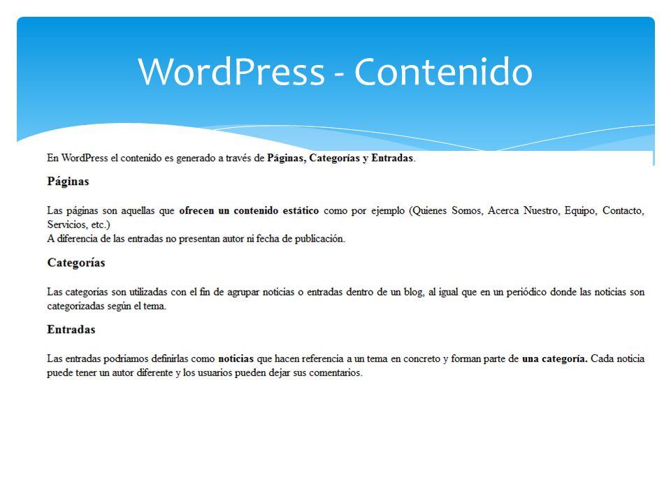 WordPress. Nombre del Sitio Web Enlaces permanente. - ppt descargar
