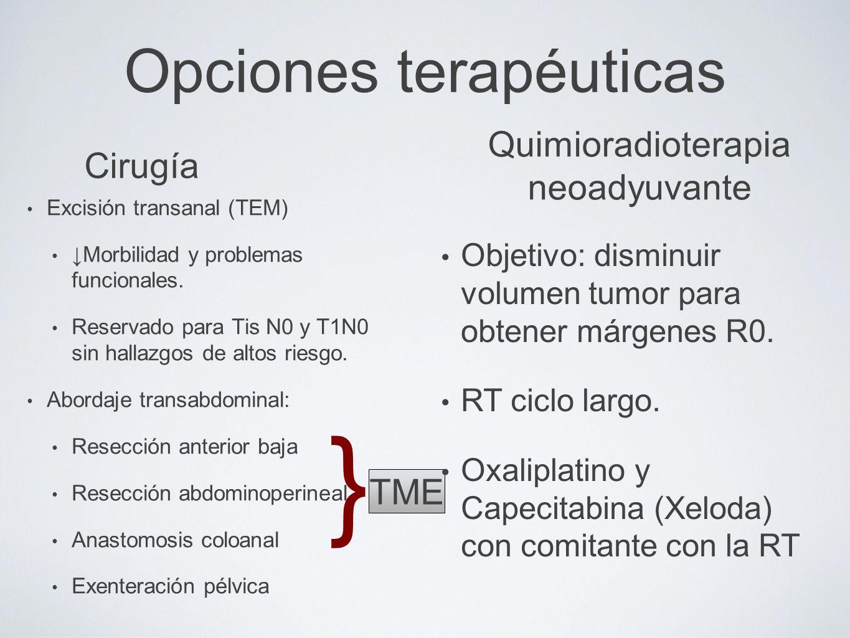 Introducción Tumor cuyo margen inferior está a < de 16 cm del margen ...