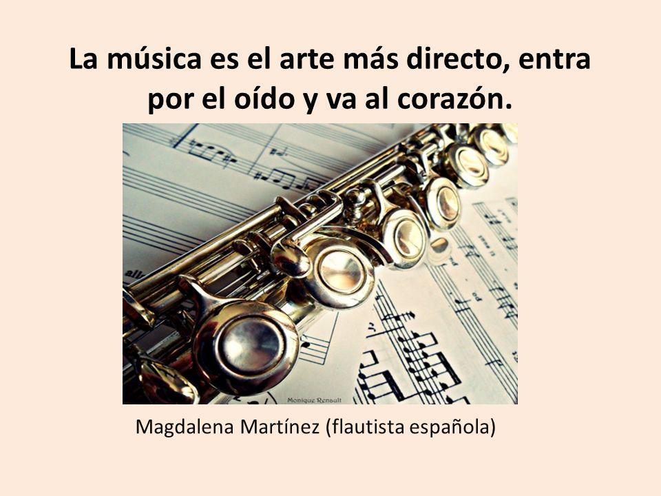 Con La Música La Vida Tiene Más Sentido La Música Es El
