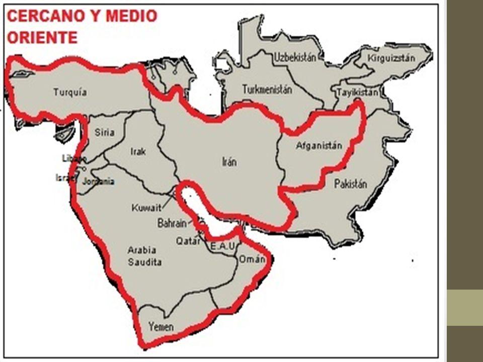 7f05fda57e0 5  El Cercano y Medio Oriente es una región geográfica localizada en el  Asia Occidental. Este amplio espacio se enmarca entre el Mar Mediterráneo
