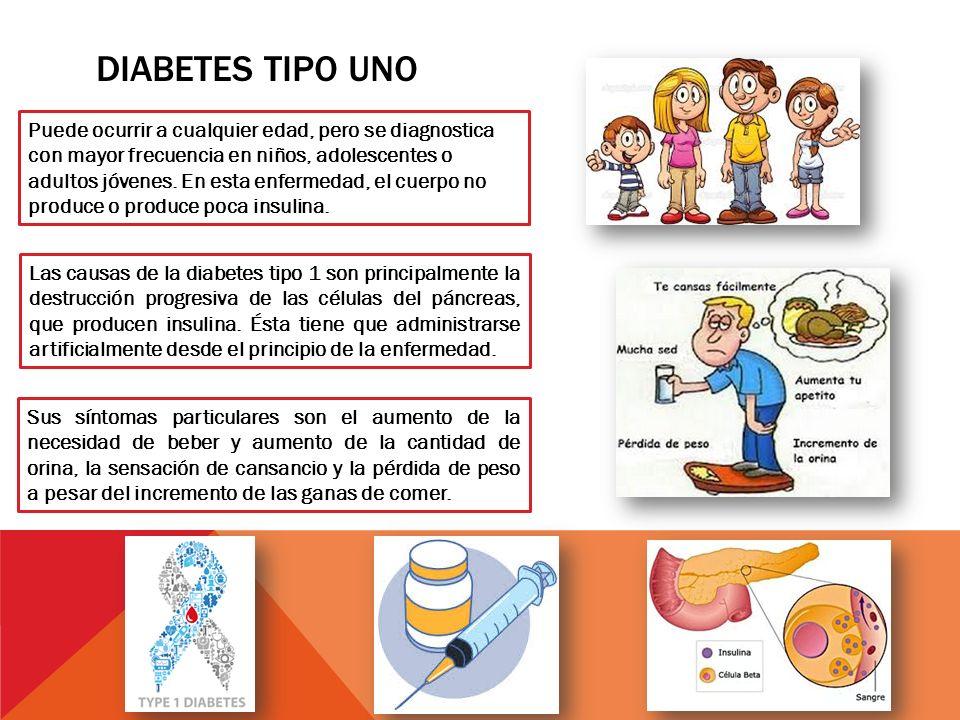 tipos de diabetes y seus sintomas