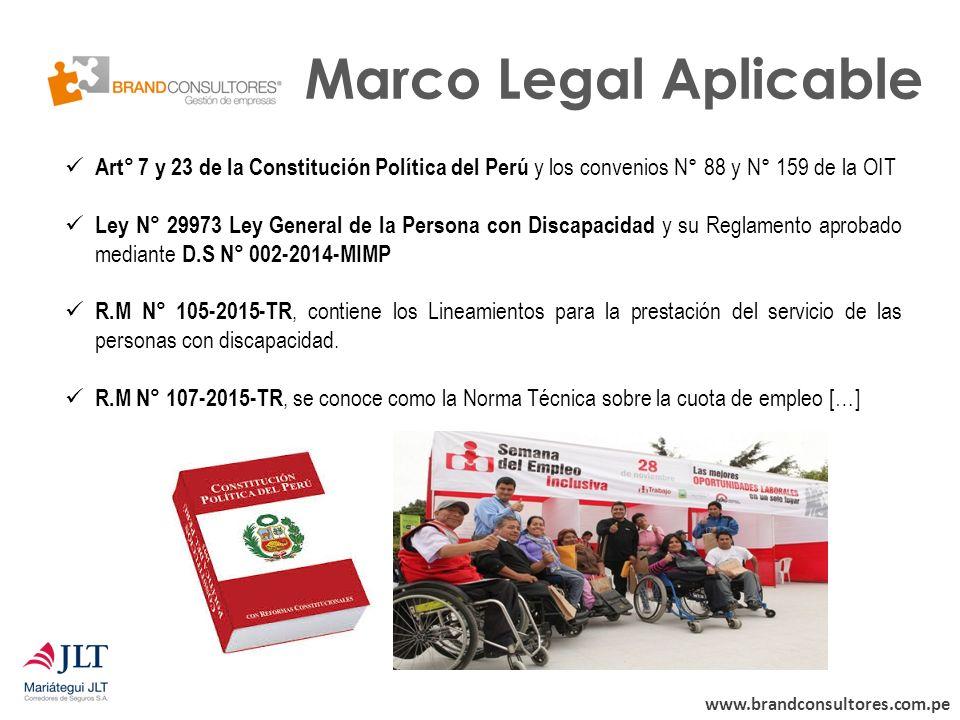 Ley de D iscapacidad Ley General de la Persona con Discapacidad Ley ...
