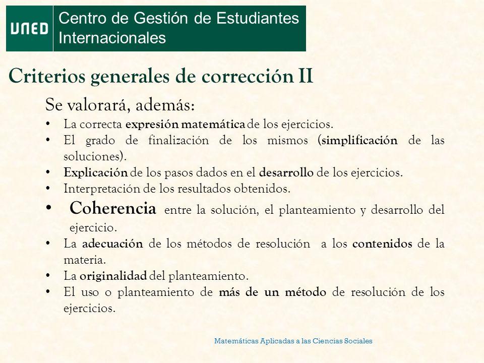 Matemáticas Aplicadas a las Ciencias Sociales Centro de Gestión de ...