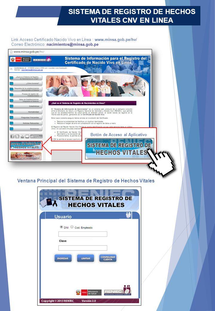Qué es el Sistema de Registro de Nacimientos en línea?  El ...