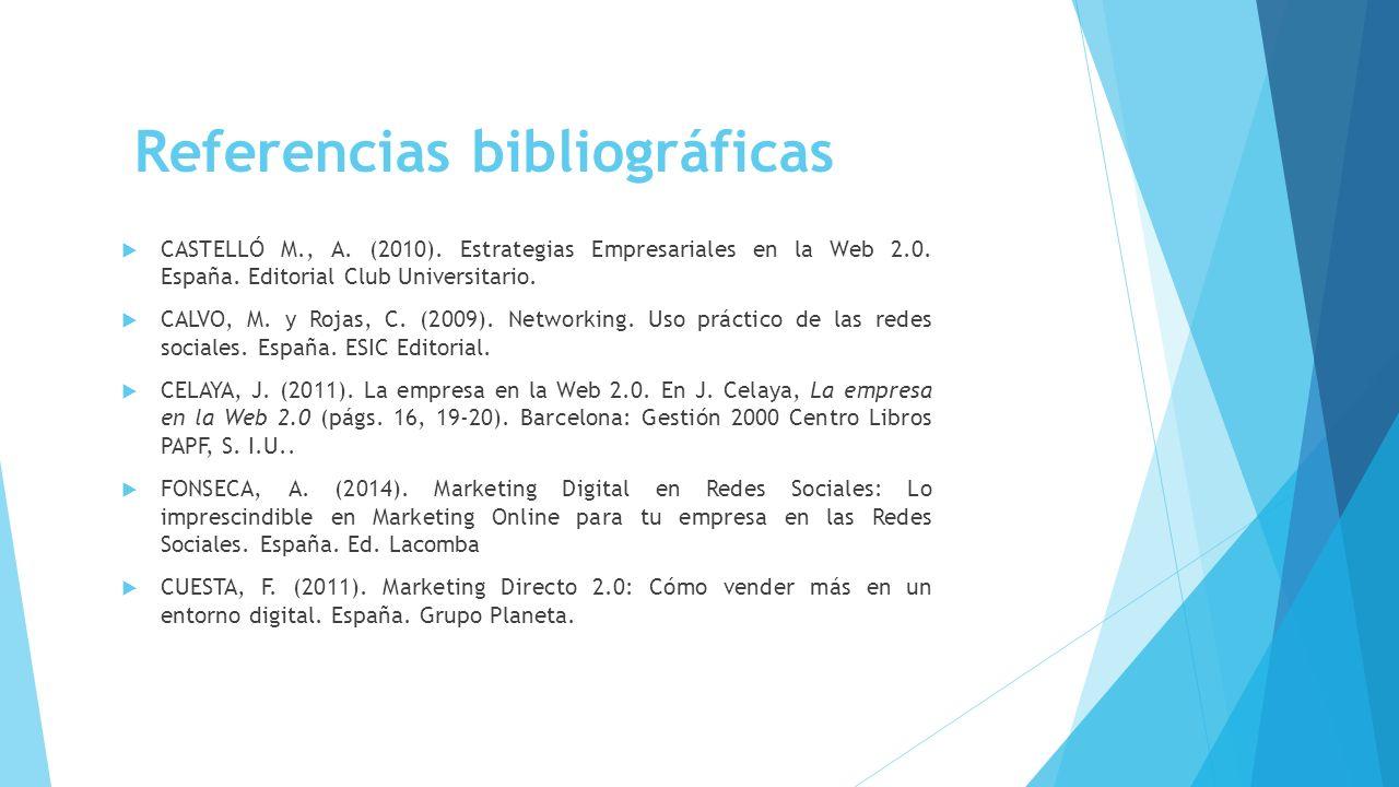 Citas Bibliograficas De Redes Sociales