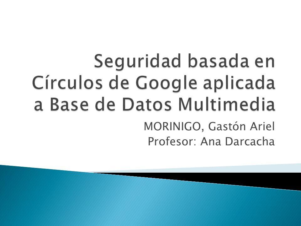 MORINIGO, Gastón Ariel Profesor: Ana Darcacha.  Introducción ...