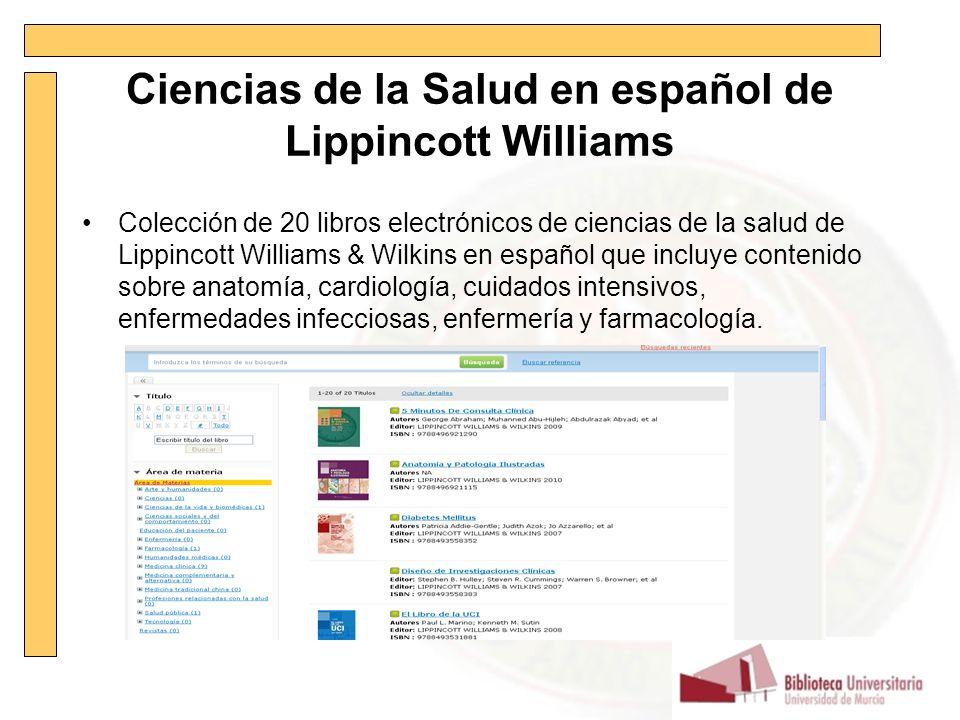 Libros electrónicos Biblioteca de la Universidad de Murcia. - ppt ...